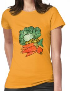 Lettuce, Carrots & Potatoes Womens Fitted T-Shirt