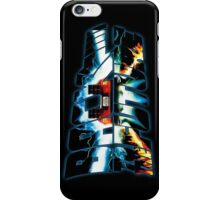 Back to the Future-Time travel iPhone Case/Skin