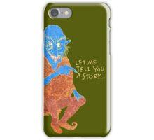 The Demon Storyteller iPhone Case/Skin
