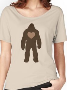 I heart Bigfoot Women's Relaxed Fit T-Shirt