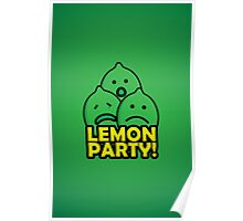 Lemon Party! Poster