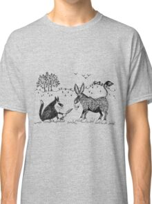 Puss and donkey Classic T-Shirt