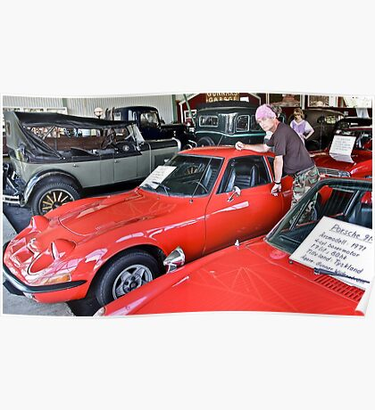 Bygone Days , Cruise Around The Memory and Dreams. i ♥ ♥ ♥  Opel GT♥  .   by Doktor Faustus. Poster