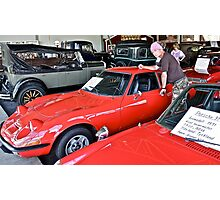 Bygone Days , Cruise Around The Memory and Dreams. i ♥ ♥ ♥  Opel GT♥  .   by Doktor Faustus. Photographic Print