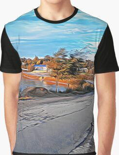 rural road Graphic T-Shirt