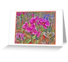 Flowers waiting Greeting Card