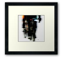 At the speed of harmony Framed Print