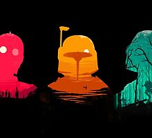 Cartoon Star Wars Characters by MrLophanor47