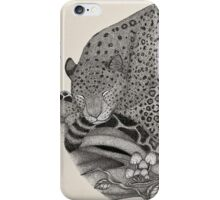 Jaguar Ink illustration iPhone Case/Skin