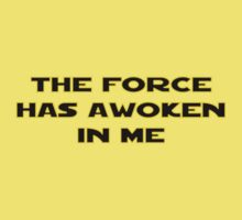 The Force Has Awoken In Me One Piece - Short Sleeve
