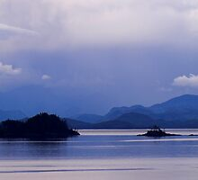 Inside Passage Vancouver Island by Melva Vivian