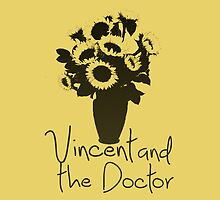 Vincent and the Doctor iPhone Case by alexandramarieg