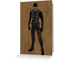 Adam Jensen Greeting Card