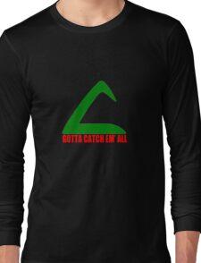 Ash Ketchum Logo Pokemon Long Sleeve T-Shirt