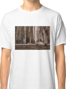 Weathered Wooden Abstracts - 2 Classic T-Shirt