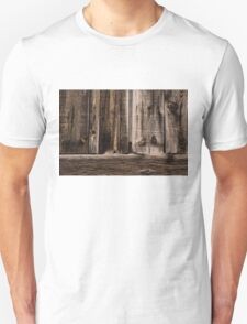 Weathered Wooden Abstracts - 2 Unisex T-Shirt