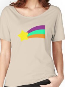 Shooting Star // Mabel Pines Women's Relaxed Fit T-Shirt