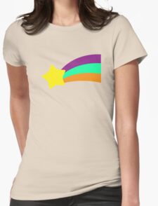 Shooting Star // Mabel Pines Womens Fitted T-Shirt