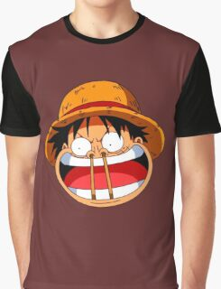 Luffy sticks! Graphic T-Shirt
