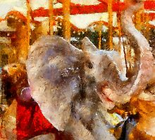 Childhood Dreams II: Baby Elephant Walk by Bunny Clarke
