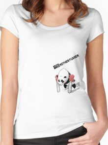Drum & Bass Motherfuxxer Women's Fitted Scoop T-Shirt