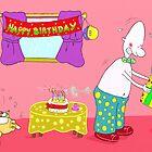 Happy Buffday! by fatcatandduncan