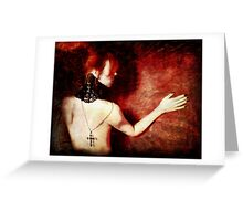 A Shadow of Impermanence Greeting Card