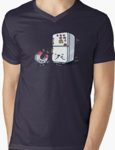 The force of attraction Mens V-Neck T-Shirt