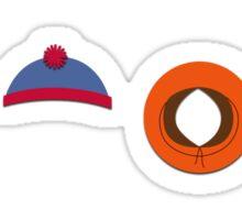 South Park Hats Sticker