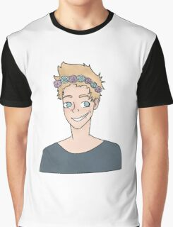 Flower Crown Luke Hemmings Graphic T-Shirt