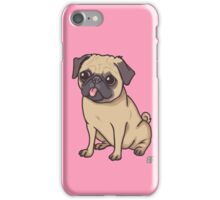 PUG (pink) iPhone Case/Skin
