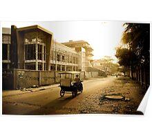 Cambodia: Tuk-Tuking Poster