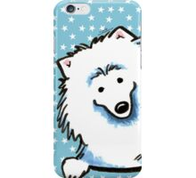American Eskimo Dog Seeing Stars iPhone Case/Skin