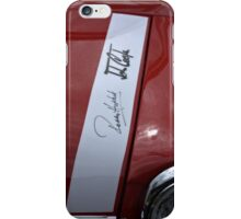 Signed Mini Cooper iPhone Case/Skin