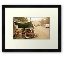 Cambodia: The Mechanic Framed Print