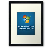 Windows Poster Framed Print
