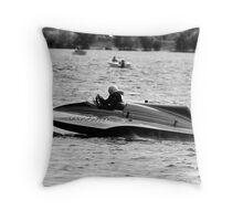 Boat Race Throw Pillow