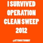 I SURVIVED OPERATION CLEAN SWEEP 2012 by Snow Dragon