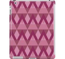 The pattern of different triangles iPad Case/Skin