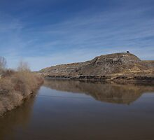 Drumheller Water by Heather Eeles