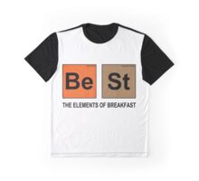 Be St ... THE ELEMENTS OF BREAKFAST Graphic T-Shirt