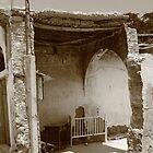 Ruins of War in village by John Papaioannou