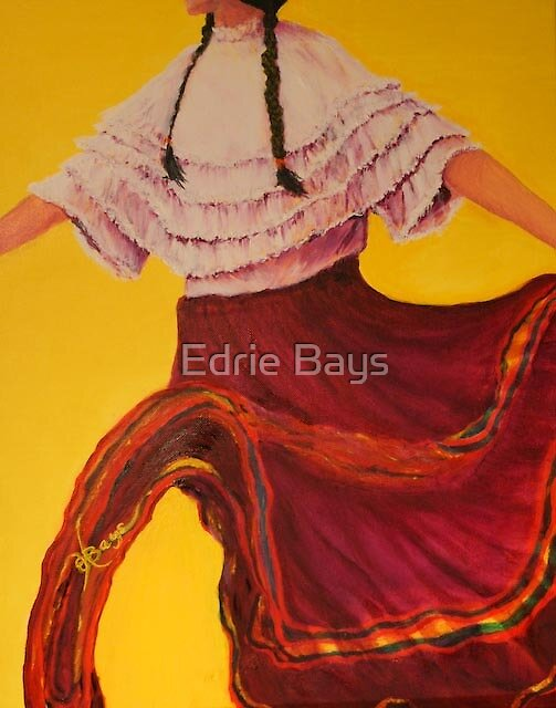 Dancing Chica by Edrie Bays