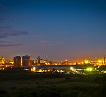 Port Kembla Steelworks by Rachel McCready