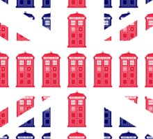 Tardis Jack Sticker