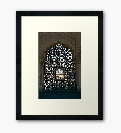 Sheherazade Window Framed Print