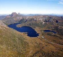Beautiful Tasmania - Cradle Mountain from the air by georgieboy98