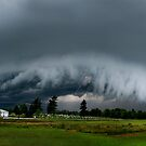 shelf cloud  by iamwiley