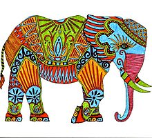 Elephant by oliviaj2