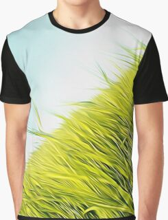 green wheat Graphic T-Shirt